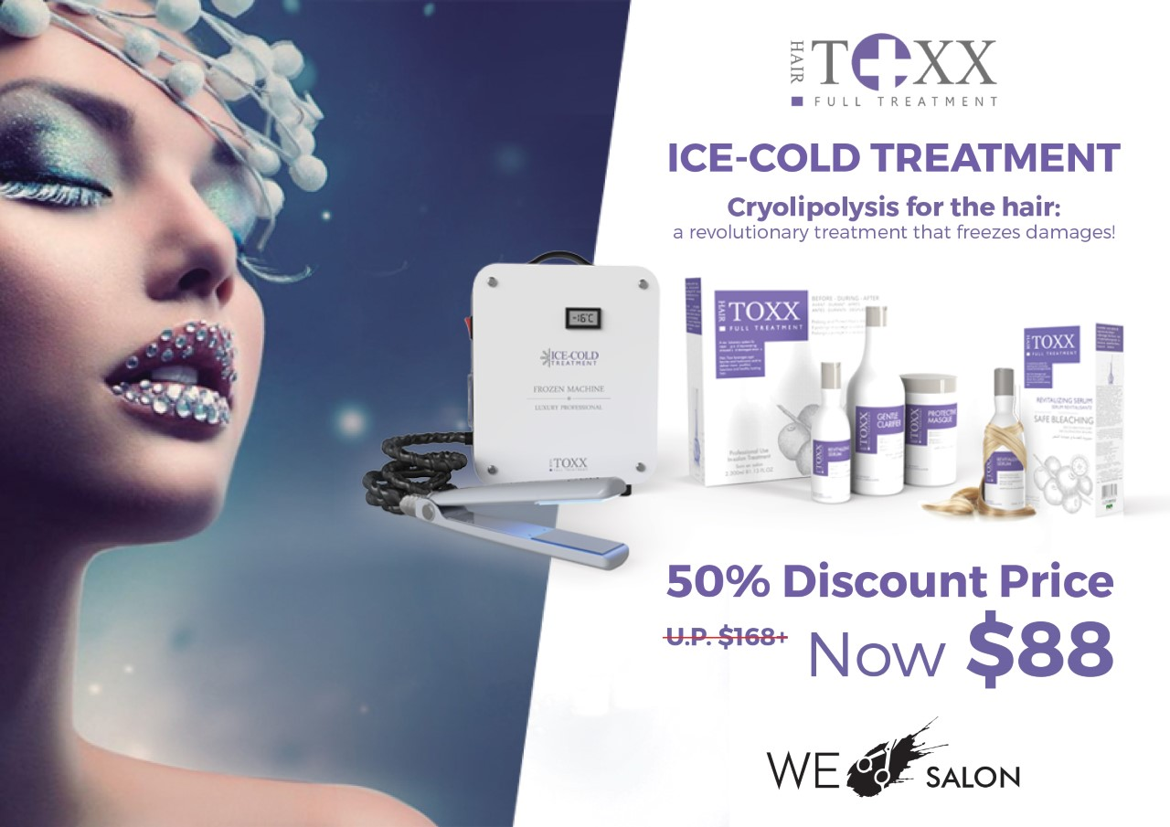 Hair.Toxx Ice-Cold Treatment = $88