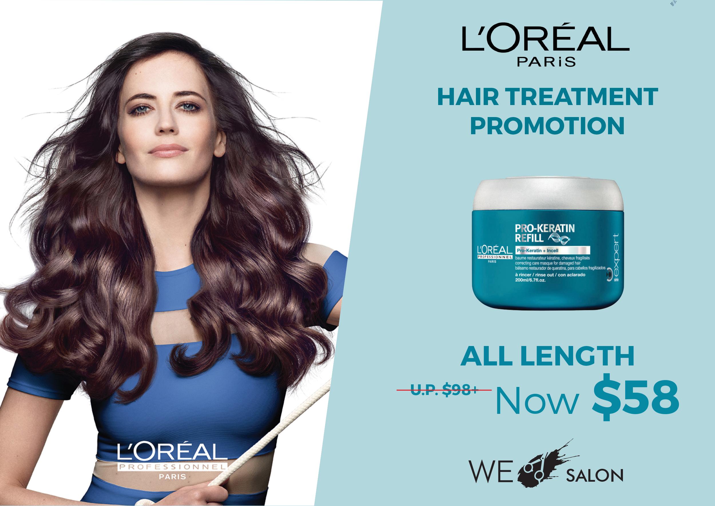Loreal Hair Treatment $58