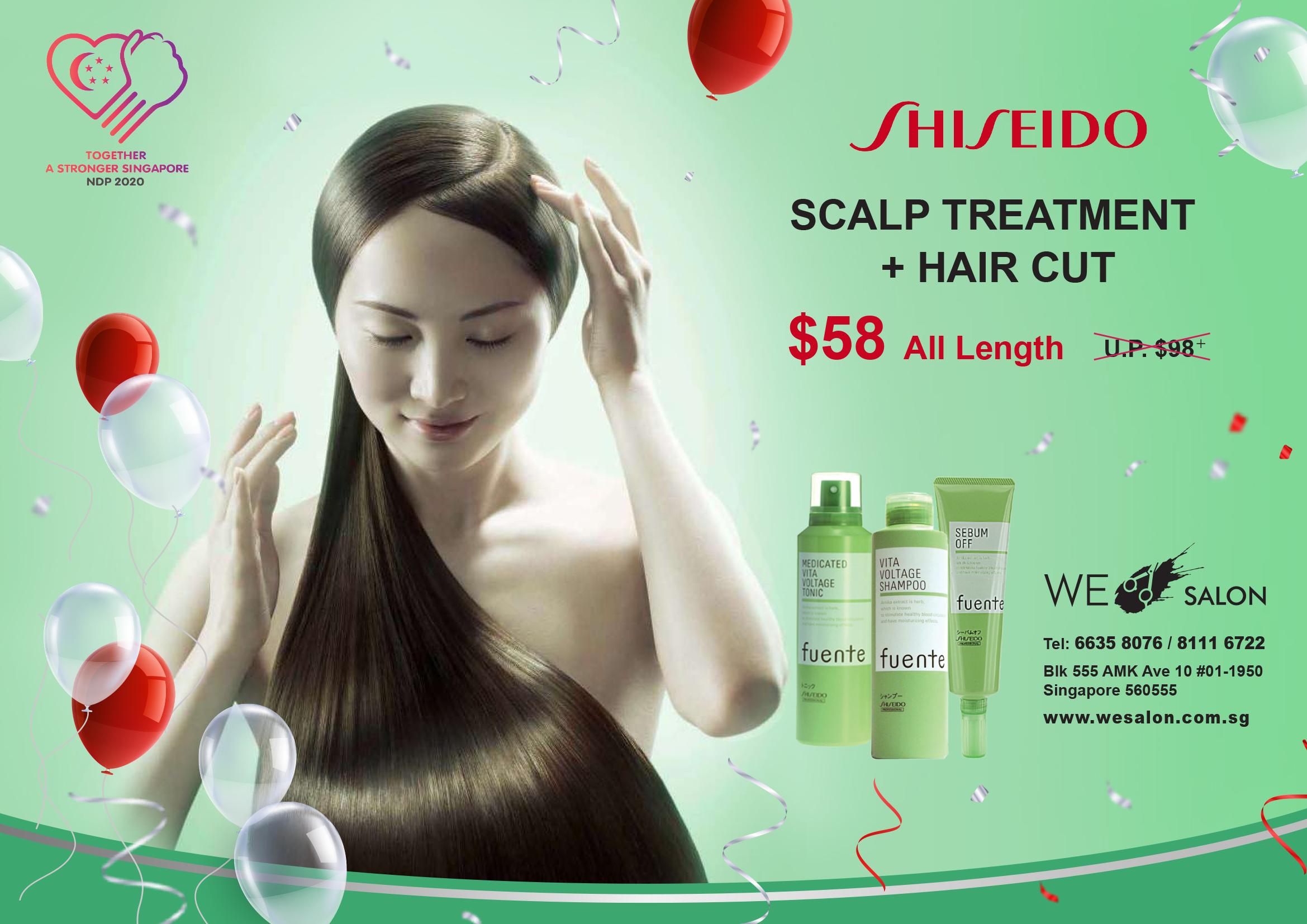 Shiseido-Scalp-Treatment = $58